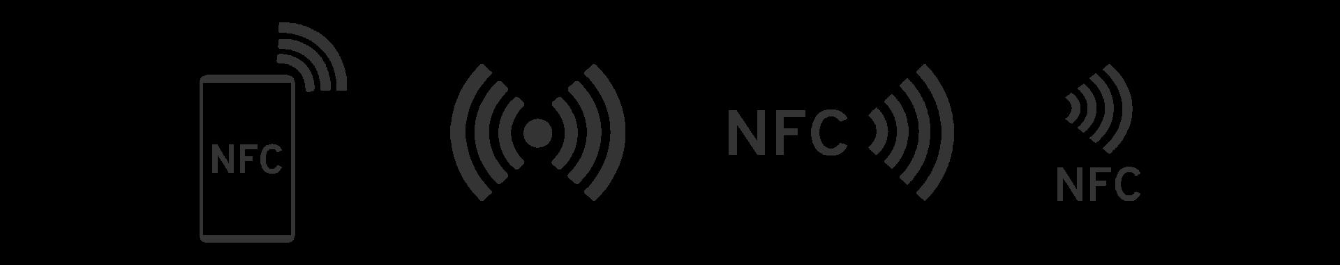 NFC-Logo Varianten