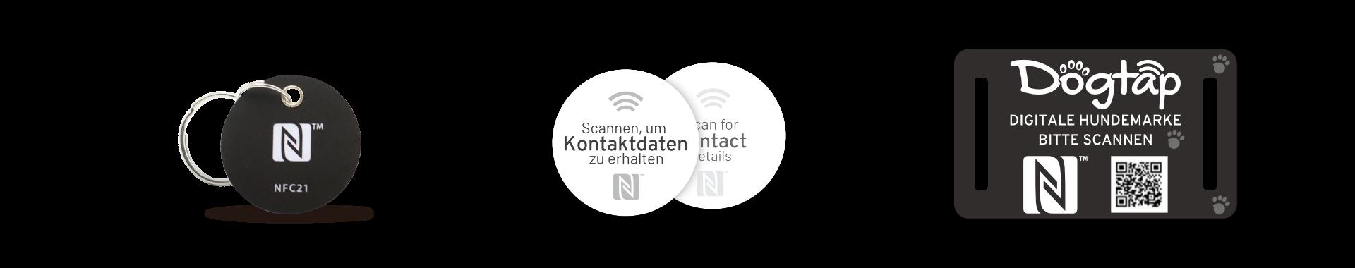 NFC-Forum Logo - Verwendungsbeispiele