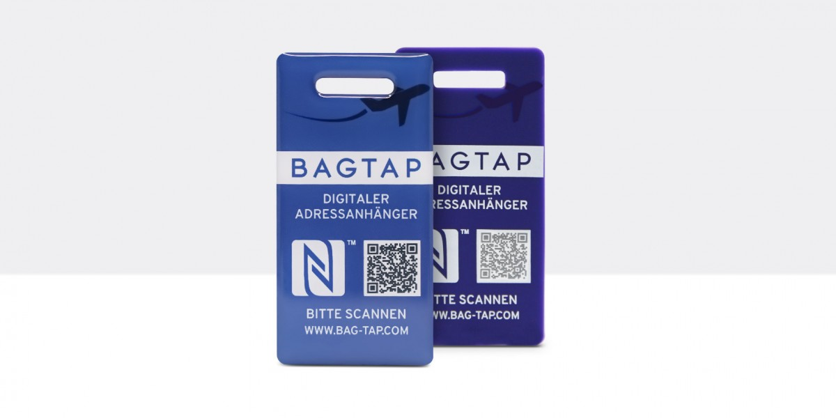 Bagtap - the digital luggage tag