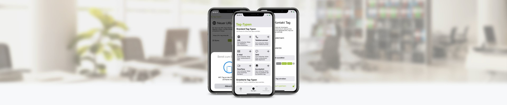 NFC21 Tools for iOS - Tool for writing and reading NFC tags