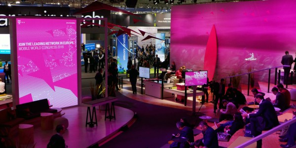 NFC und Deutsche Telekom @ Mobile World Congress